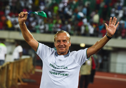 Nigeria vs Benin: What Rohr said after Super Eagles' 2-1 win over Squirrels