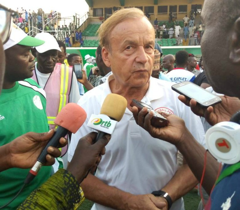 Rohr admits it is difficult to convince players to represent Nigeria