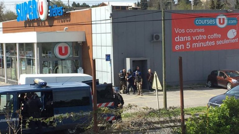 Terror in France: Gunman opens fire at supermarket, takes hostages