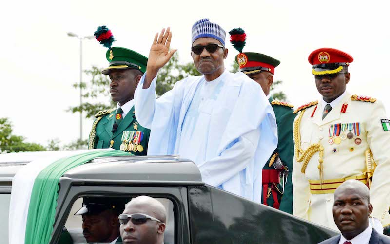 President Buhari Congratulates President Macky Sall of Senegal on Election Victory