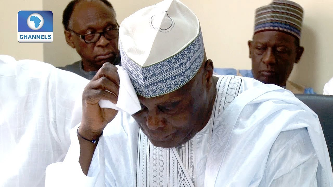 BREAKING: Atiku rejects election results, heads to court