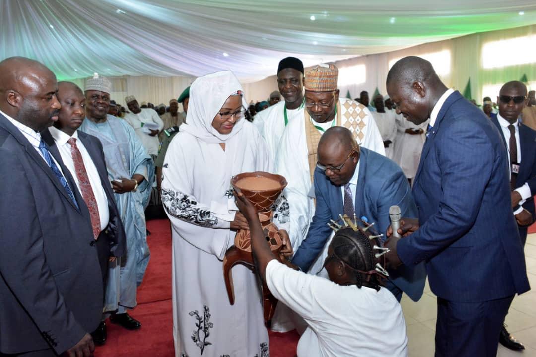 Press Release: Aisha Buhari at adamawa town hall, stresses unity, peace and love