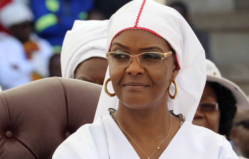 Grace Mugabe accused of bloody attack on domestic worker
