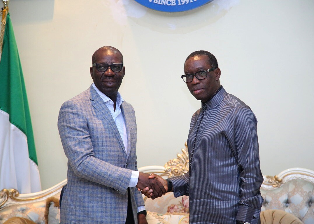 Okowa, Obaseki Brainstorm On Economic, Social Ties …. Make Case For Improved Governance Structure On NDDC