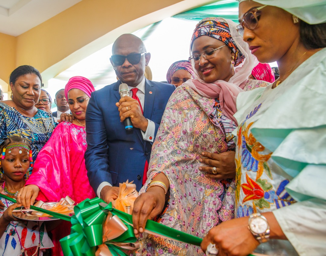 Press Release  I take the well-being of women very seriously – Aisha Buhari