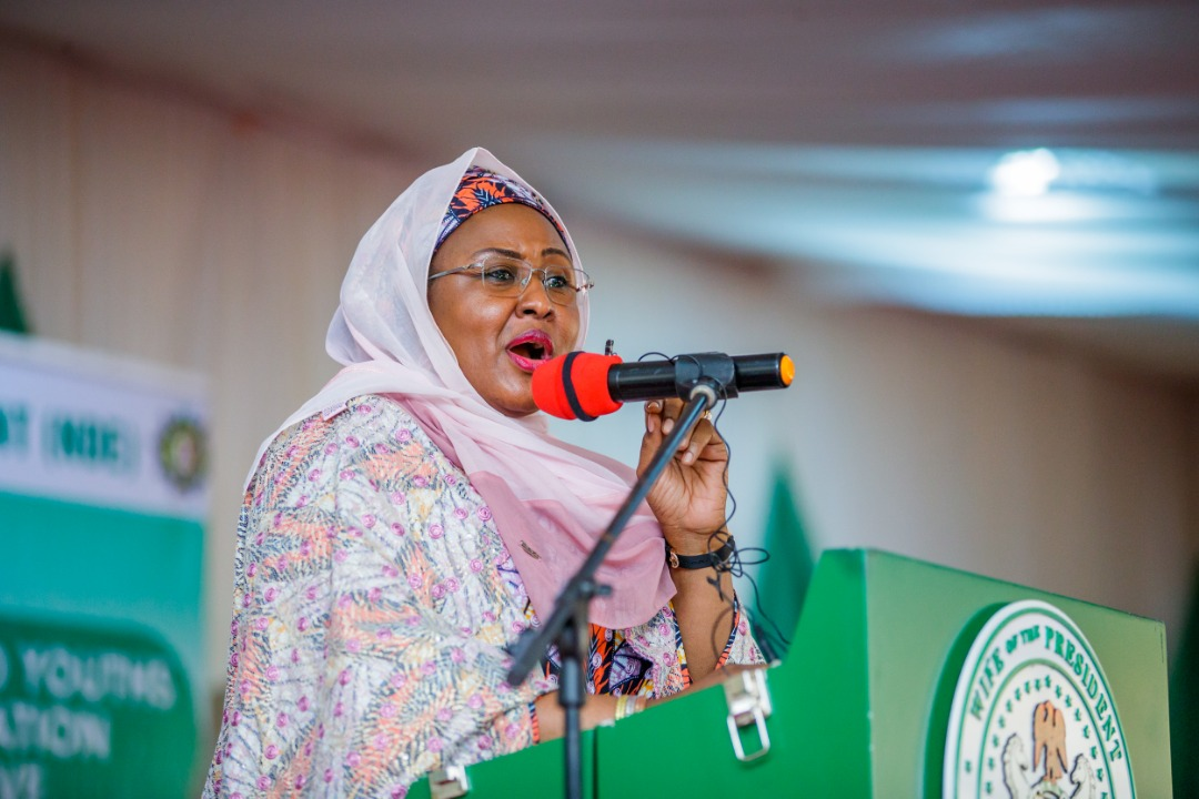 Aisha Buhari says she's 'First Lady', not 'Wife of the President'
