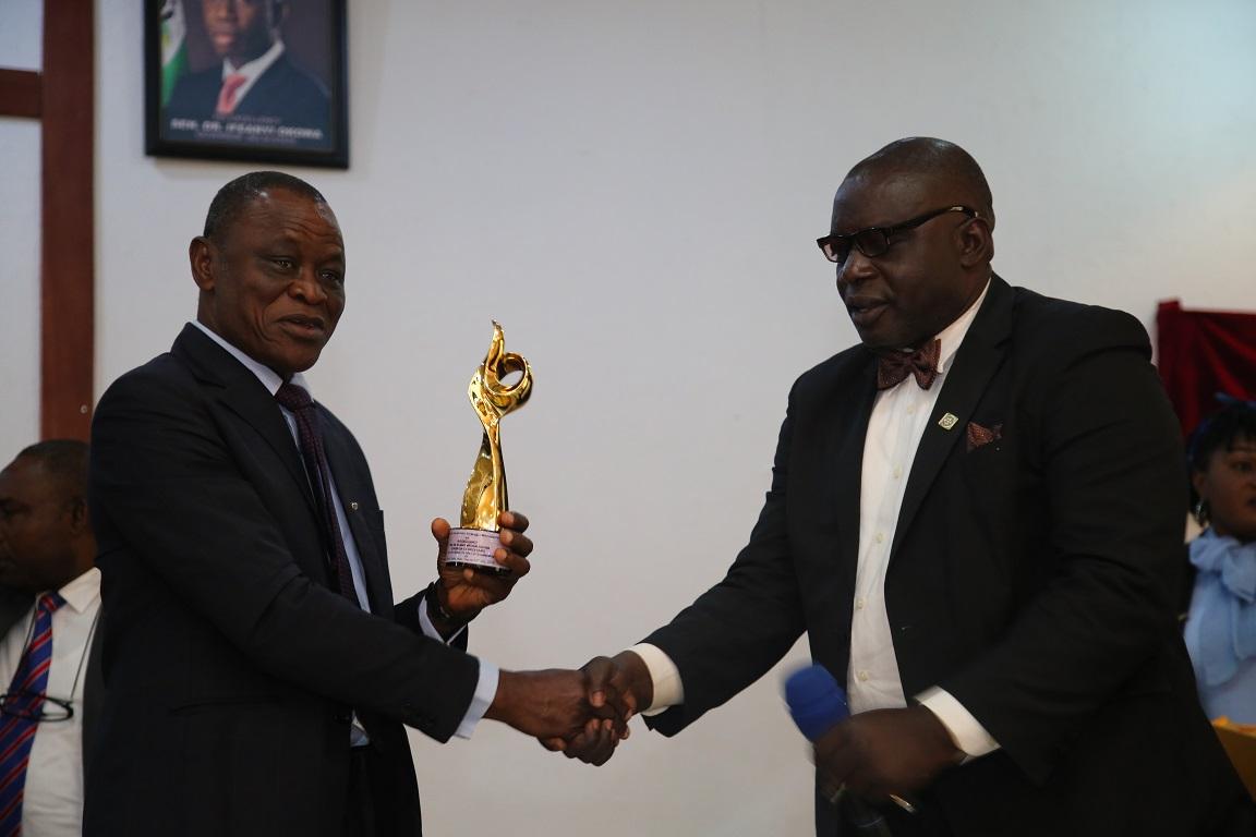 """Delta To Set Up Education Endowment Fund""- Okowa ……..As Okowa Bags Maiden ""Prof. Austin Uwandulu"" Award"