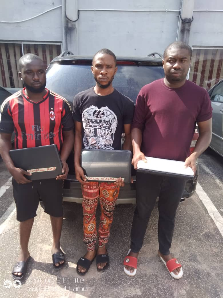EFCC Arrests Cyber Criminal, Two Others in Benin