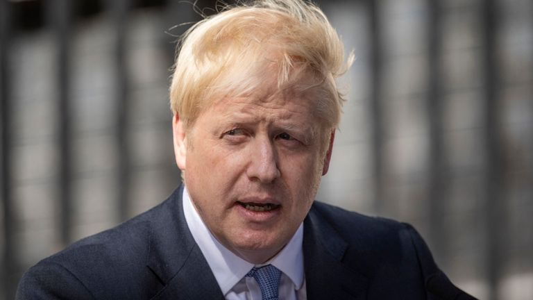 British Prime Minister Boris Johnson tests positive for coronavirus
