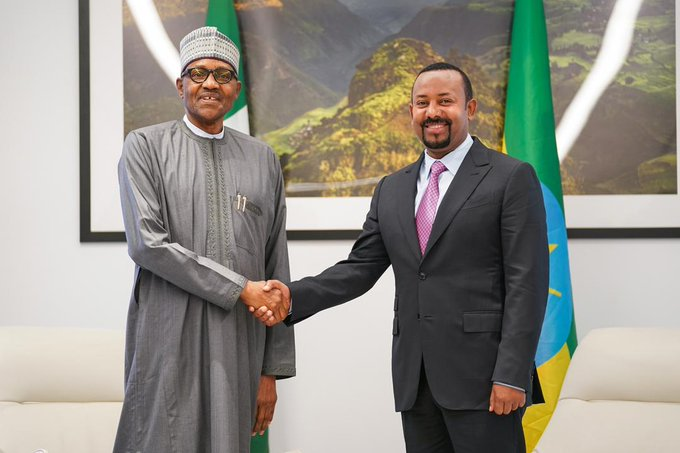 Nigeria, Ethiopia Sign Visa Waiver Agreement, MOU On Defence Cooperation As President Buhari Concludes State Visit